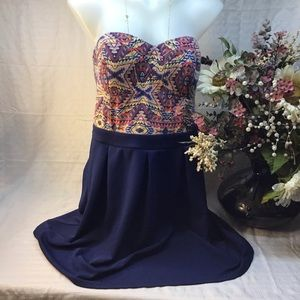 Women's size large sleeveless dress stretch